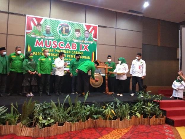 Muscab ke IX, Ini Nama Tiga Calon Ketua DPC PPP Kota Padang Hasil Perundingan Formatur