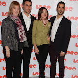OIC - ENTSIMAGES.COM - Ruth Sheen, Brett Goldstein, Natalia Tena and Chritian Contreras  at the LOCO Superbob UK film Premiere Q and A at BFI London 24th January 2015 Photo Mobis Photos/OIC 0203 174 1069