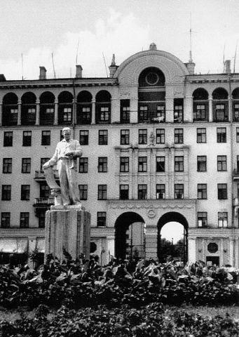 Photo: Дом на проспекте Металлургов, 39 (1960 г.)