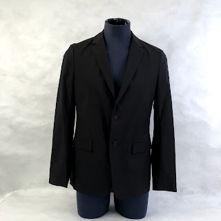 Theory NEW Black 2-Button Blazer