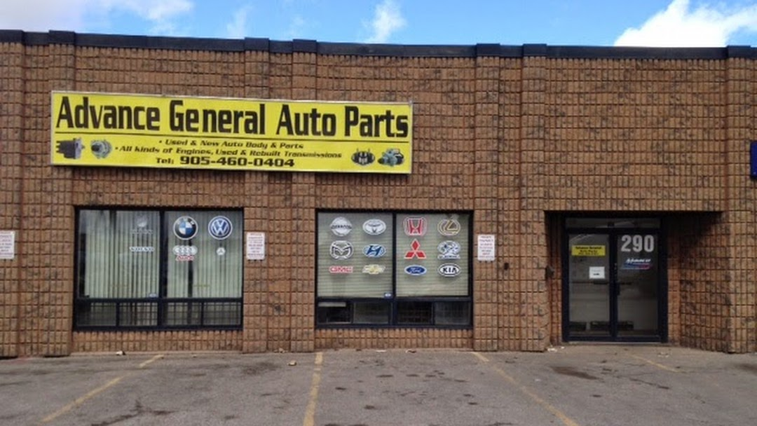 General Auto Parts >> Advance General Auto Parts Inc Auto Parts Store In Brampton