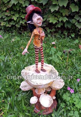 Elfo místico - Pieza Exclusiva - www.tirnanogduendes.com.ar