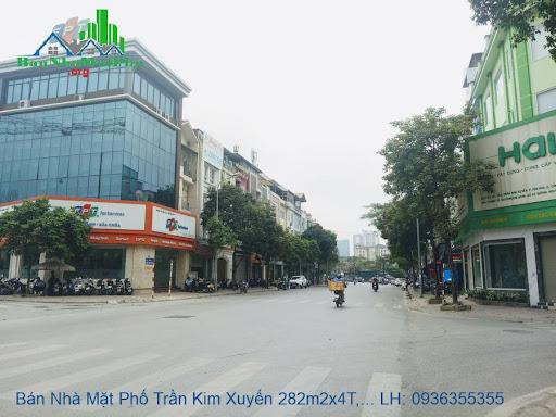 Bán nhà mặt phố Trần Kim Xuyến