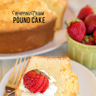 Heavy Whipping Cream Pound Cake Recipes.