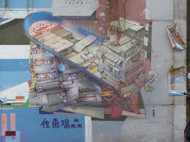 Taipei. Street art à Ximen et Youth park - P1250145.JPG