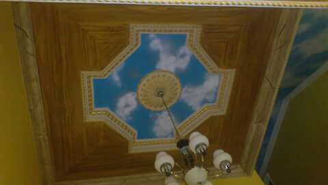 Sky effect on ceiling
