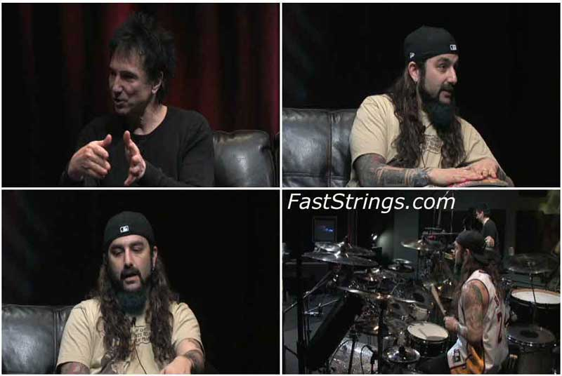 Mike Portnoy - On The Art Of Drumming Show with Terry Bozzio