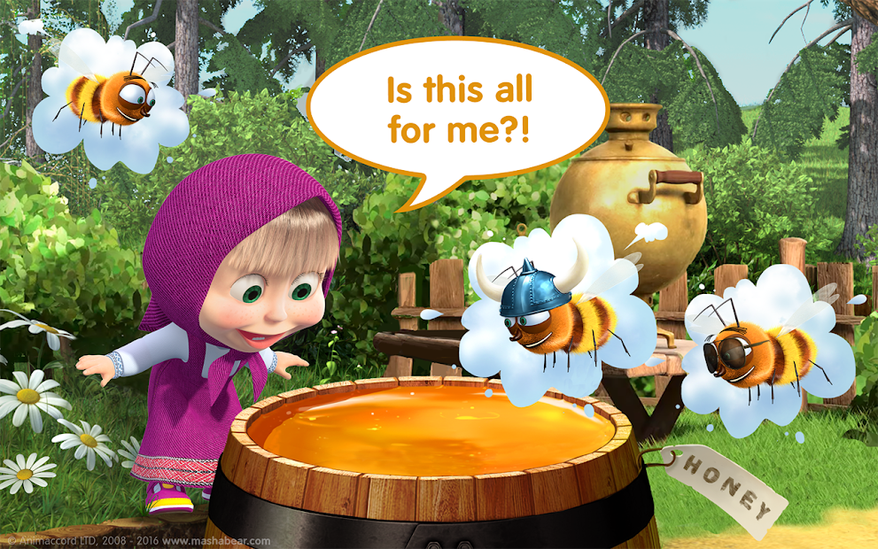 Masha and the Bear Child Games screenshot 21