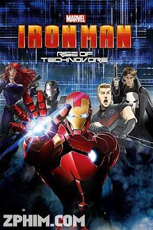 Người Sắt: Sự Nổi Giận Của Technovore - Iron Man: Rise of Technovore (2013) Poster
