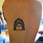 penguin back - Terrestrial Animals Tattoos