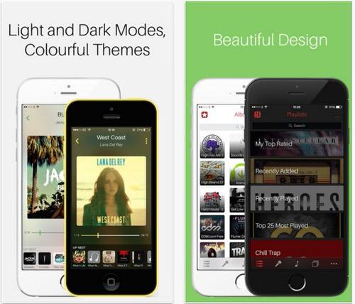 iPhoneの美しいミュージックアプリMezzo