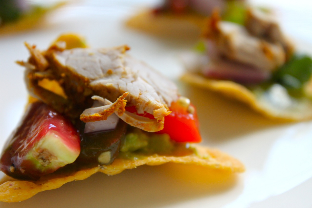 Quick Recipe: Mini Tostadas