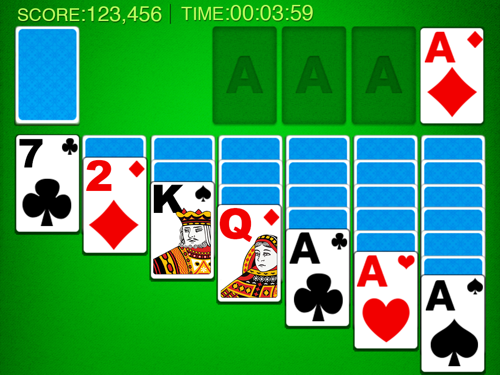 Screenshots of Solitaire! for iPhone