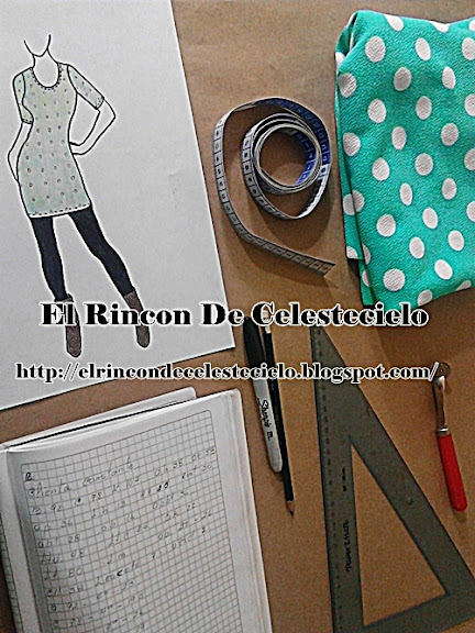 Elementos, accesorios y útiles a usar al trazar un patrón