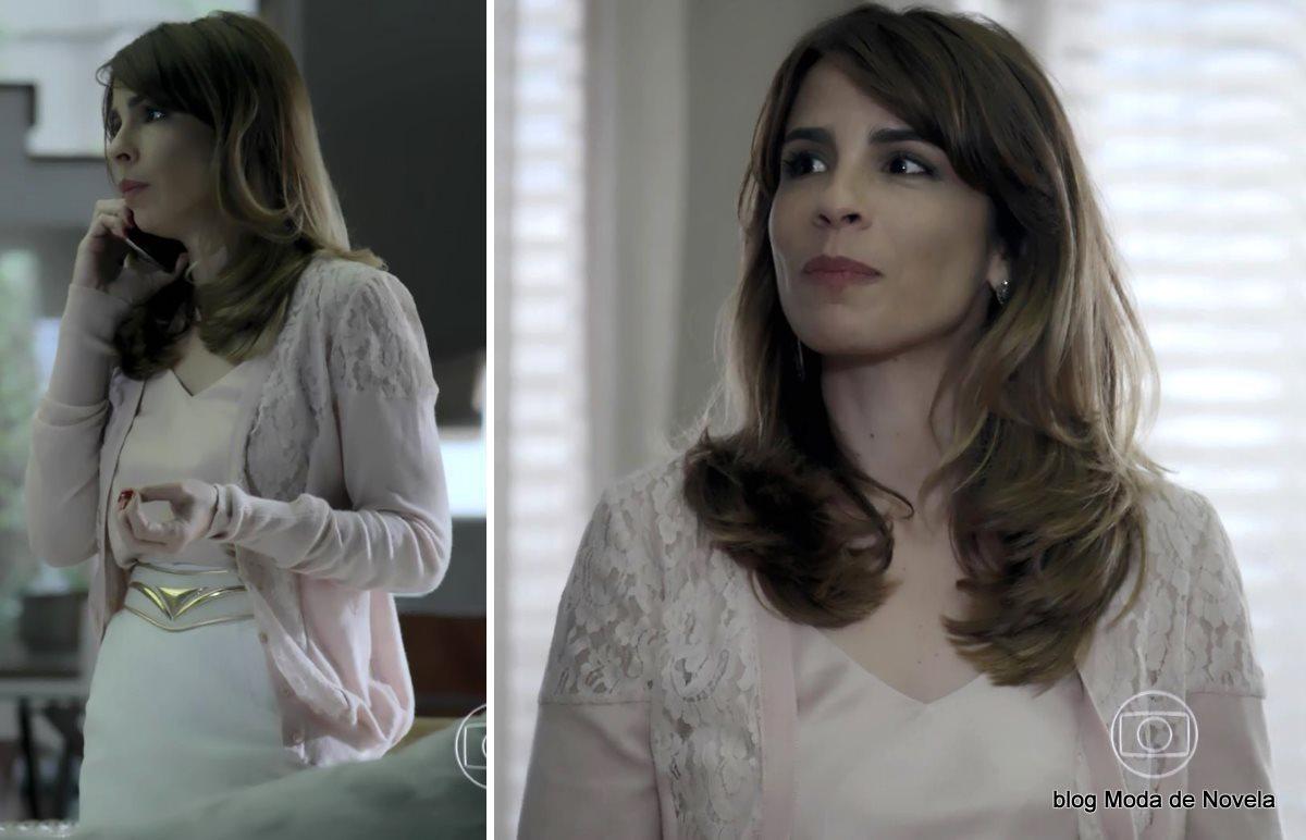 moda da novela Império - look da Danielle dia 10 de setembro