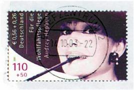 Allemagne 2002 1er exemplaire oblitéré 53000€