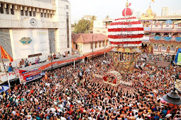 Kodiyal Theru at Mangaluru Carstreet | 200ನೇ ವರ್ಷದ ಮಂಗಳೂರು ರಥೋತ್ಸವ ಸಂಪನ್ನ: ರಥಬೀದಿಯಲ್ಲಿ ಸಂಭ್ರಮ