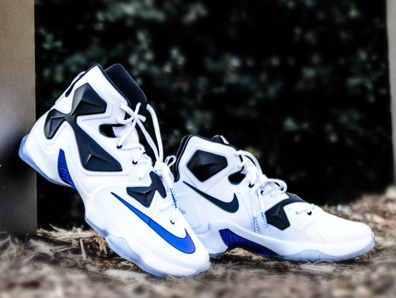 buy online 56368 1eeec Duke Blue Devils Add New Nike LeBron 13 PE to the Line Up