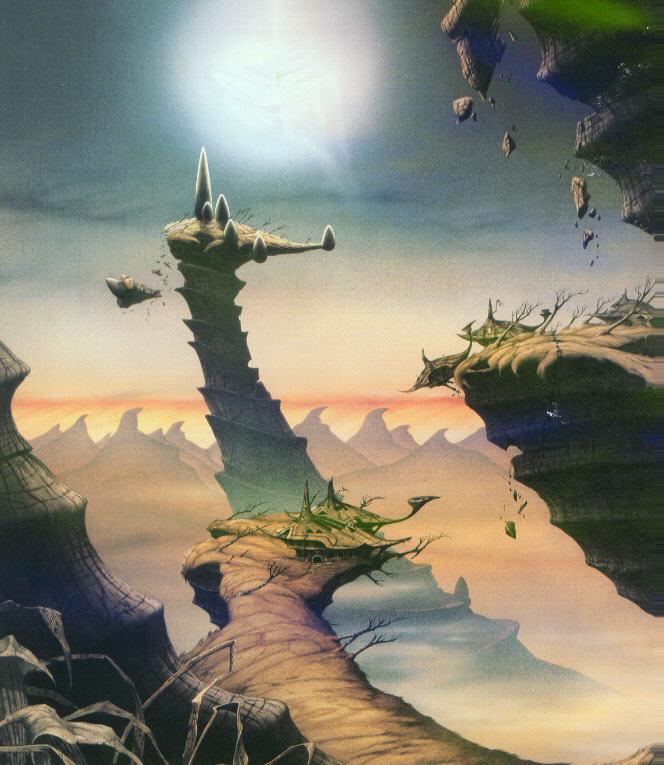 Fantasy Mountains, Fantasy Scenes 3