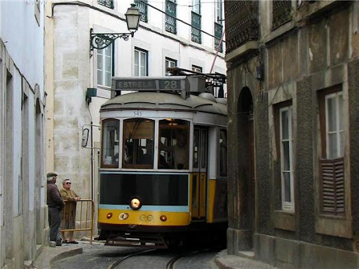 Лиссабон Трамвай 28