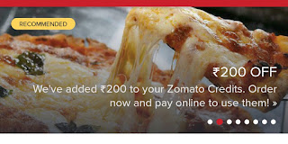 Get Free Food Worth Rs.300  From Zomato App+ Unlimited Times 1