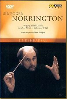 Mozart 39 Norrington DVD