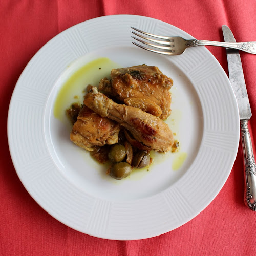 pollastre amb llimona i olives / chicken with lemon and olives