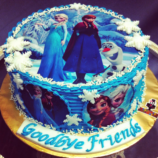 Cake Boss Edible Images : Cake Boss Bangi: Frozen edible image