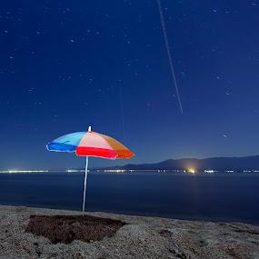 Over My Umbrella  by John CHIMON - Landscapes Starscapes ( pwcstars )
