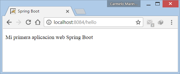 Ejecutar WAR Spring Boot