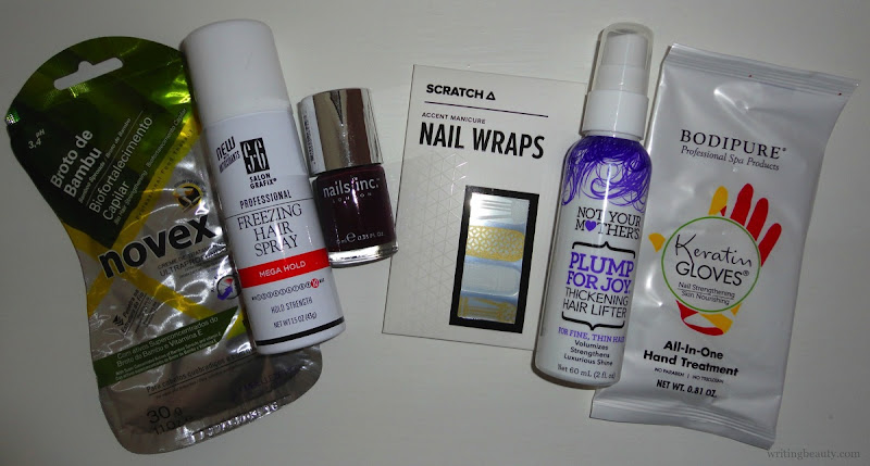 January 2016 Beauty Box Five 1