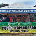 Tripika Pagaden Laksanakan Himbauan 3M Dalam Rangka PPKM di Posko Terpadu PSBB