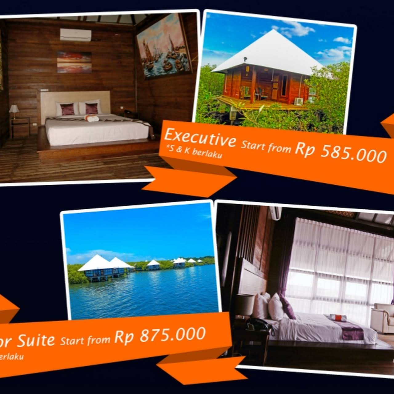 Bee Jay Bakau Resort Tujuan Wisata