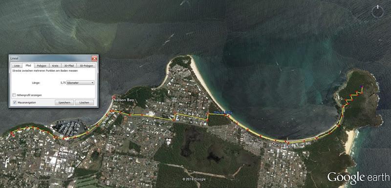 Wanderung Shoal Bay Port Stephens