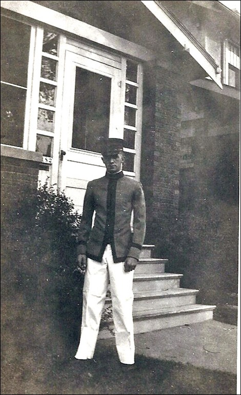 MILNE_Robert in military school uniform incl hat_enh