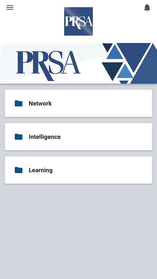 PRSA Membership- screenshot