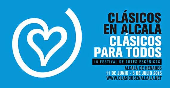 Clásicos en Alcalá 2015, del 11 de junio al 5 de julio en Alcalá de Henares