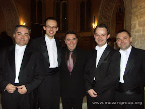 MozART group and Maxim Vengerov in Gstaad