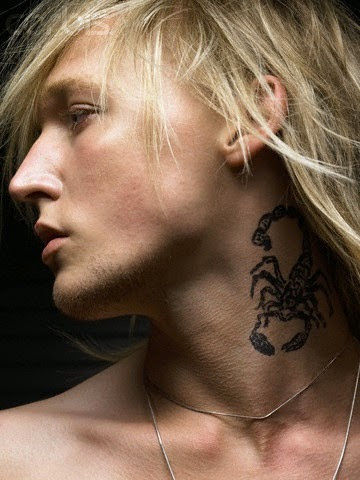 25 best neck tattoos for men designs and ideas designatattoo for Best neck tattoos