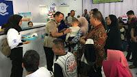 Pemohon SIM dan urus tilang di Polres Tegal dapat kejutan kue tart