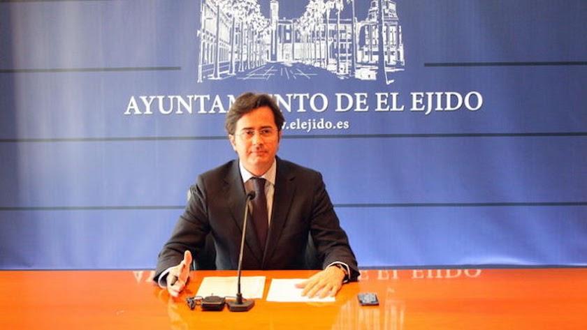 Francisco Góngora, alcalde de El Ejido.