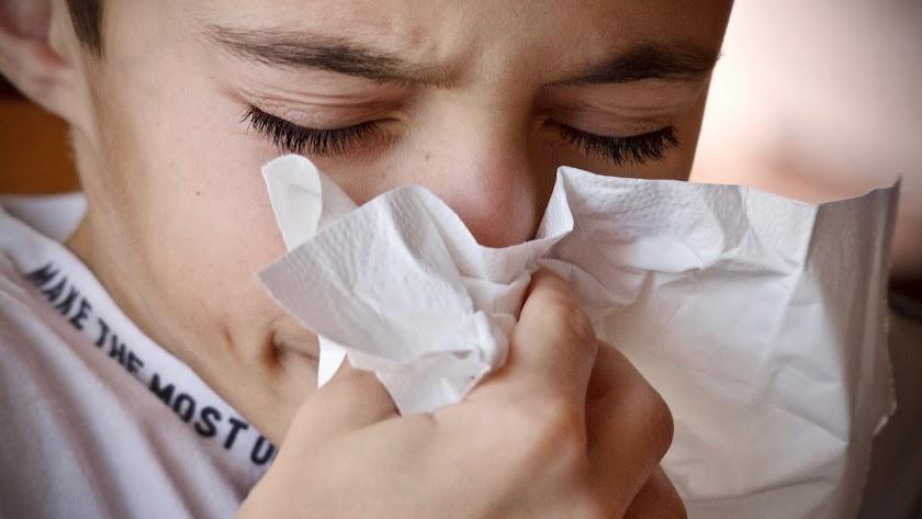 Los niños están entre los principales afectados por la gripe.