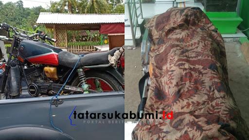 Mayat Pria tanpa identitas ditemukan di Desa Sukamaju, Cikakak, Sukabumi - Jawa Barat, Kamis (17/1/2019).
