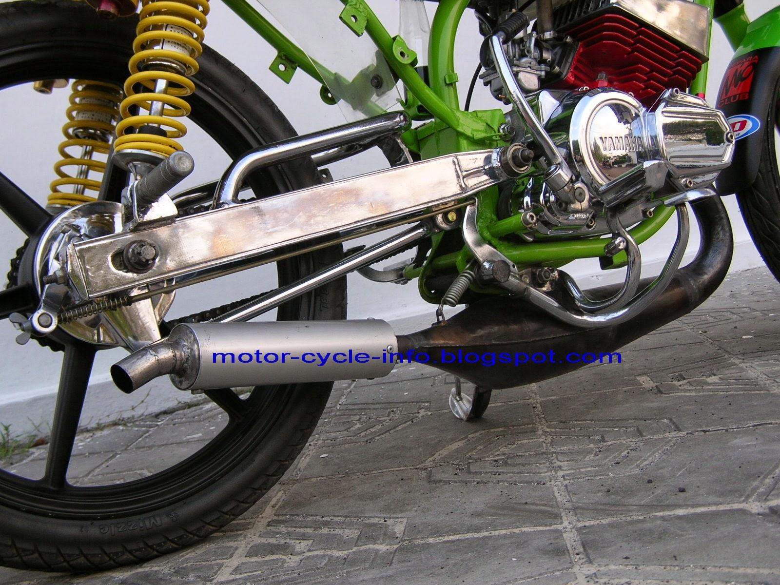 Supra X 100cc Modifikasi Trail