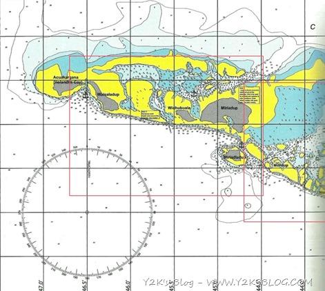 Cayo Holandes Map West
