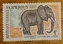 timbre Cameroun 001