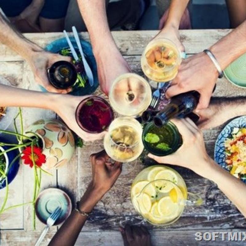 9 продуктов, которые лучше не есть с алкоголем