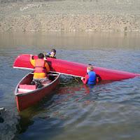We worked on Canoeing merit badge