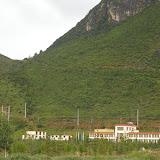 Shangri-la (Xianggelila, Zhongdian) : emplacement des photos de papillons (3300 m), le 22 août 2010. Photo : J.-M. Gayman