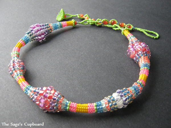 Herringbone Candy Rope Necklace